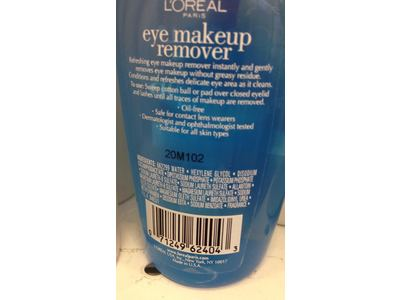 L'Oreal Paris Eye Makeup Remover, 4 fl oz - Image 5