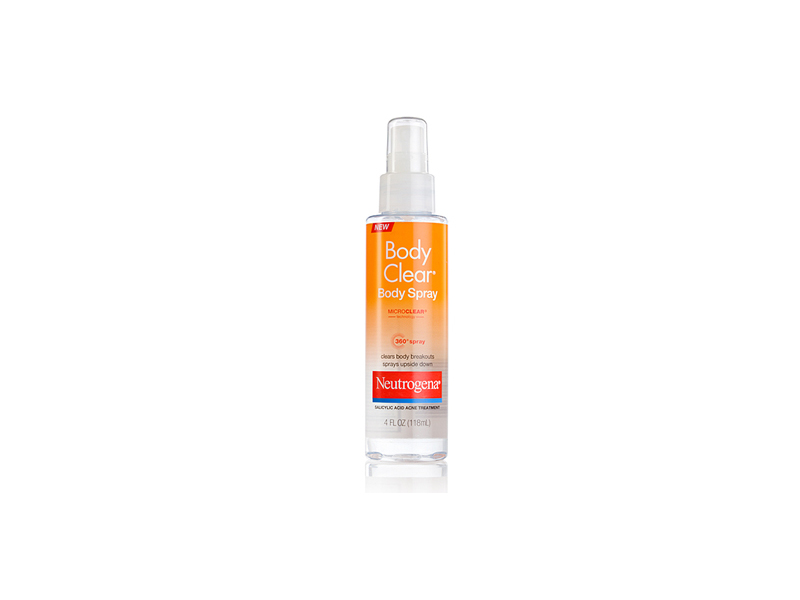 Neutrogena Body Clear Body Spray, Johnson & Johnson