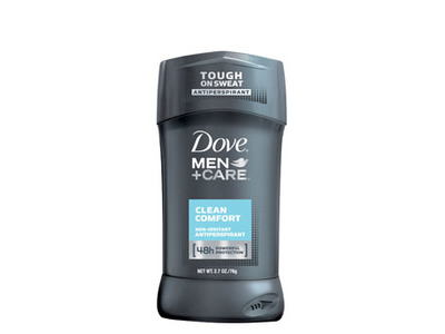 Dove Men+Care 48H Non-irritant Antiperspirant, Clean Comfort
