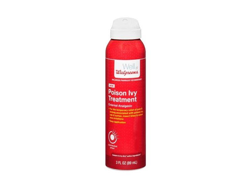Walgreens Continuous Spray Poison Ivy Treatment, 3 fl oz