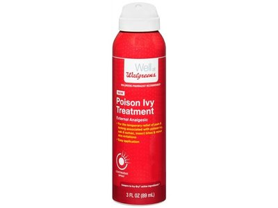 Walgreens Continuous Spray Poison Ivy Treatment, 3 fl oz