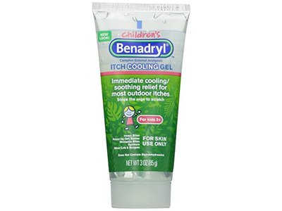 Benadryl, Anti-Itch Cooling Gel For Kids, 3 Ounce (Pack of 2)