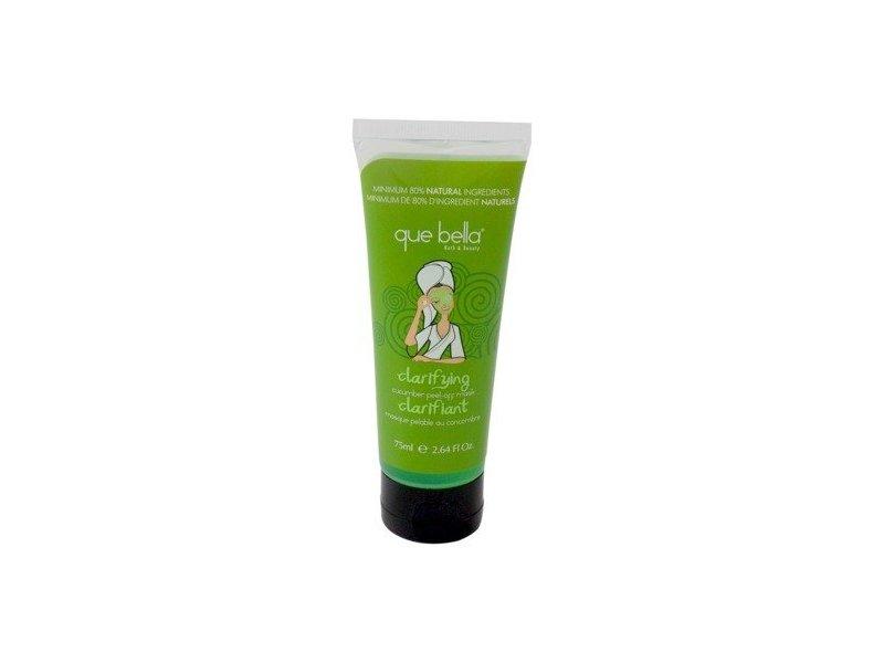 Que Bella Clarifying Cucumber Peel-Off Mask Tube, 2.64 Oz