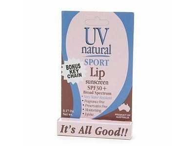 UV Natural International Pty Ltd UVNatural Sport Lip Sunscreen, SPF 30+ - Image 3