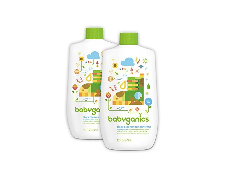 Babyganics Floor Cleaner Concentrate Fragrance Free 16oz