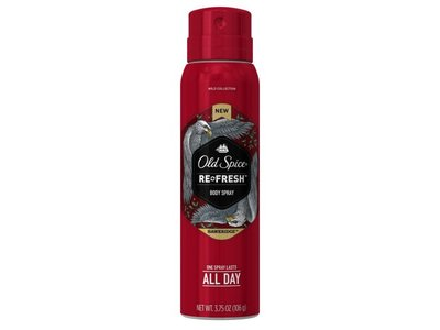 Old Spice Wild Collection Hawkridge Men's Body Spray 3.75 Ounce
