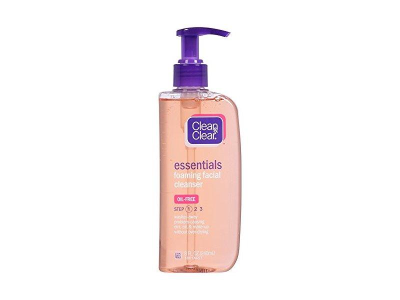 Clean & Clear Essentials Foaming Facial Cleanser, 8 fluid ounce