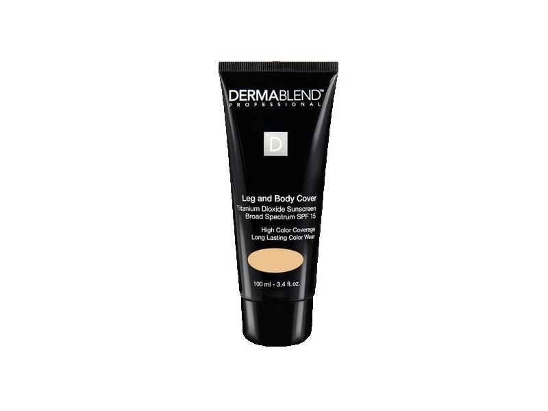 Dermablend Leg and Body Cover, SPF 15, Dark, 3.4 fl oz