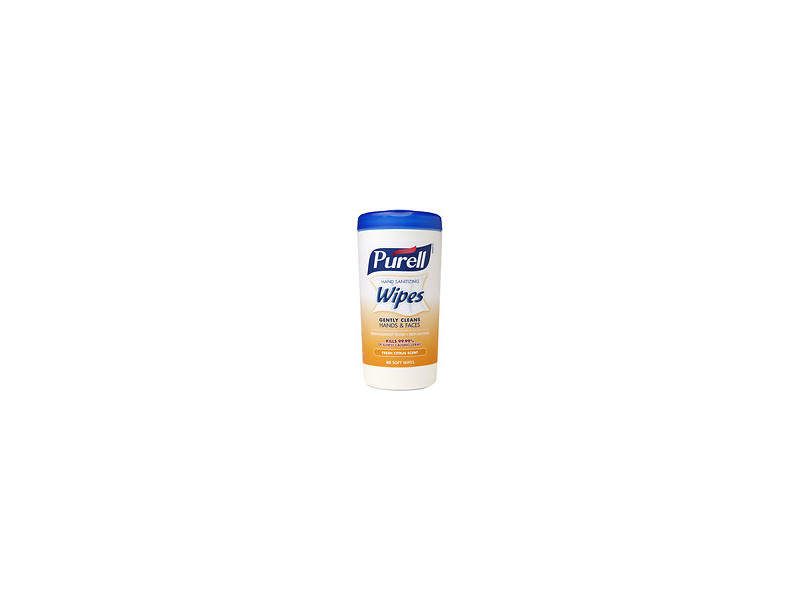 Purell Hand Sanitizing Wipes, Fresh Citrus Scent, 40 wipes