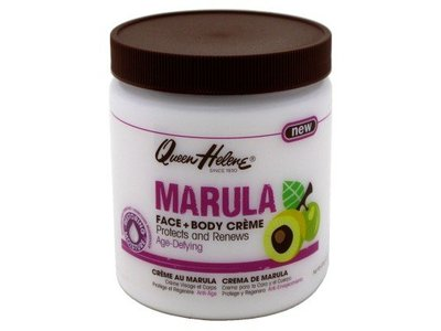 Queen Helene Marula Face and Body Creme, 15 Ounce