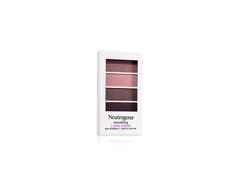 Neutrogena Nourishing Long Wear Eye Shadow Plus Primer, Cocoa Mauve, 0.24 Ounce