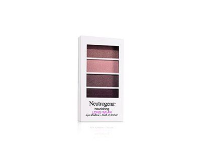 Neutrogena Nourishing Long Wear Eye Shadow Plus Primer, Cocoa Mauve, 0.24 Ounce - Image 1