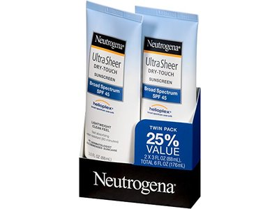 Neutrogena Ultra Sheer Dry-touch Sunscreen Broad Spectrum SPF-30, Johnson & Johnson - Image 5