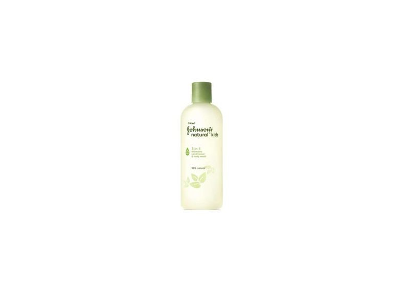 Johnson's Natural Kids 3-in-1 Shampoo, Conditioner & Body Wash, Johnson & Johnson