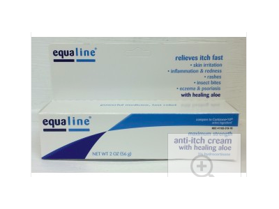 Equaline Anti-Itch Cream with Healing Aloe, 2 oz
