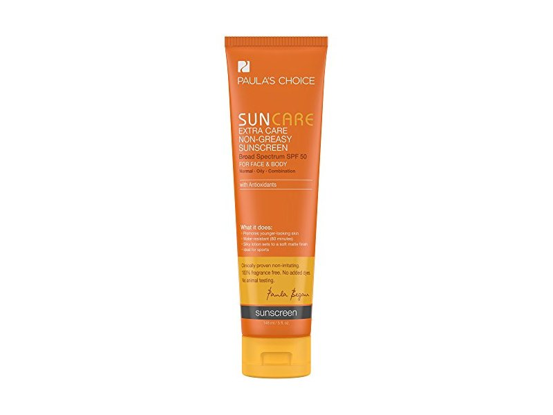Paula's Choice Sun Care Extra Care Non-Greasy Sunscreen, SPF 50, 5 fl oz