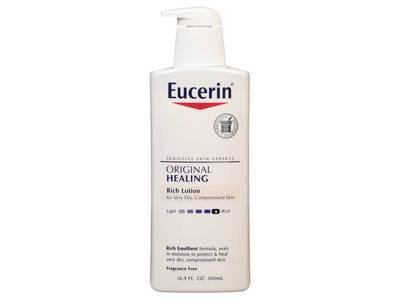 Eucerin Original Healing Lotion, 16.9 fl oz.