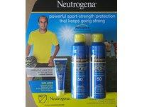 Neutrogena Cooldry Sport with Micromesh Sunscreen SPF 50 Spray & SPF 70 Lotion - Image 2
