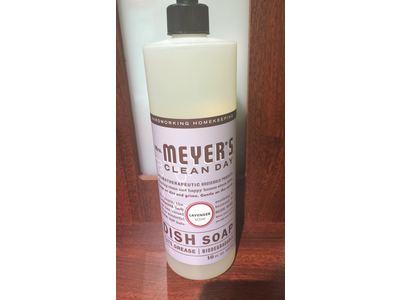 Mrs. Meyer's Clean Day Dish Soap, Lavender, 16 fl oz - Image 3