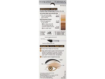 Physicians Formula Shimmer Strips Custom Eye Enhancing Shadow & Liner - All Shades - Image 4