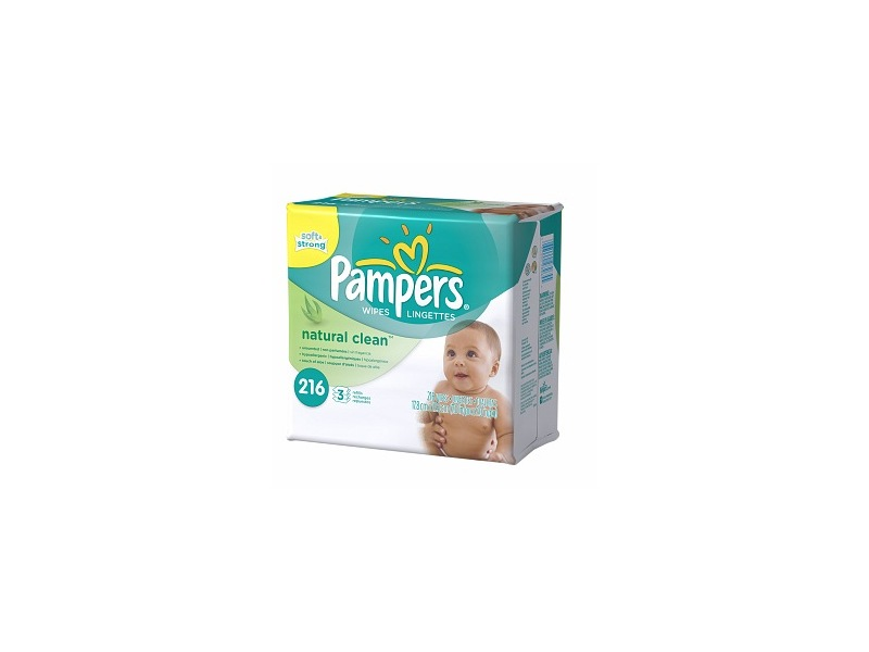 Pampers Natural Clean, Procter & Gamble