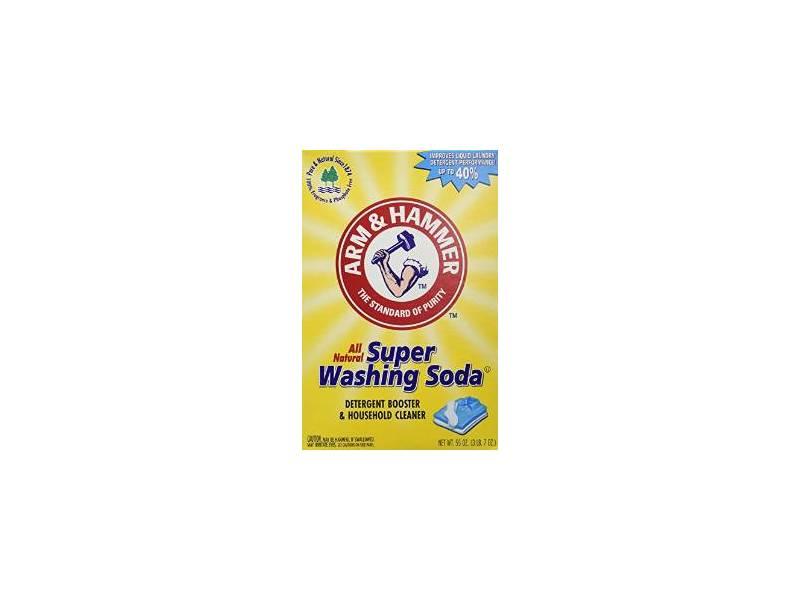 Arm & Hammer Super Washing Soda, 55 oz