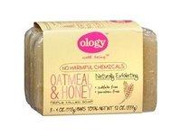 Ology Triple Milled Soap Bars, Oatmeal & Honey, 4 oz - Image 2
