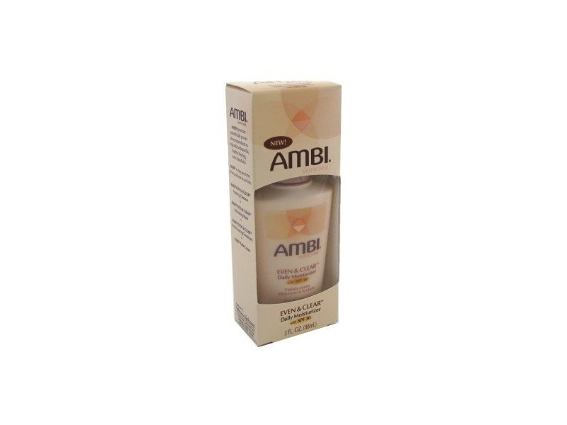 AMBI EVEN & CLEAR Daily Moisturizer, SPF30, 3 oz