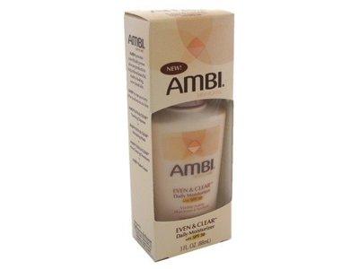 AMBI EVEN & CLEAR Daily Moisturizer, SPF30, 3 oz