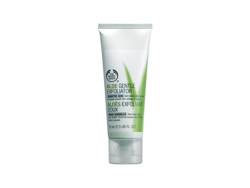 Aloe Gentle Exfoliator, The Body Shop