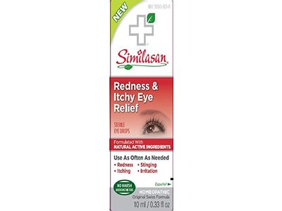 Similasan Redness & Itchy Eye Relief Sterile Drops, 0.33 fl oz