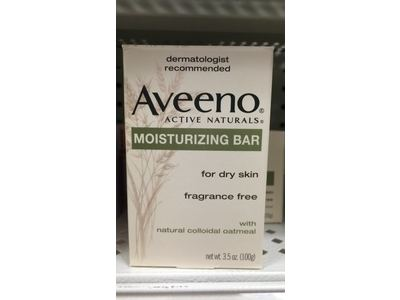 Aveeno Active Naturals Moisturizing Bar, 3.5 Oz - Image 3