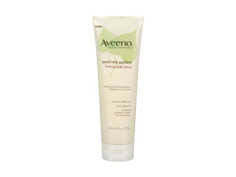 Aveeno Active Naturals Positively Ageless Firming Body Lotion, 8.0 oz