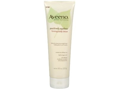 Aveeno Active Naturals Positively Ageless Firming Body Lotion, 8.0 oz - Image 1