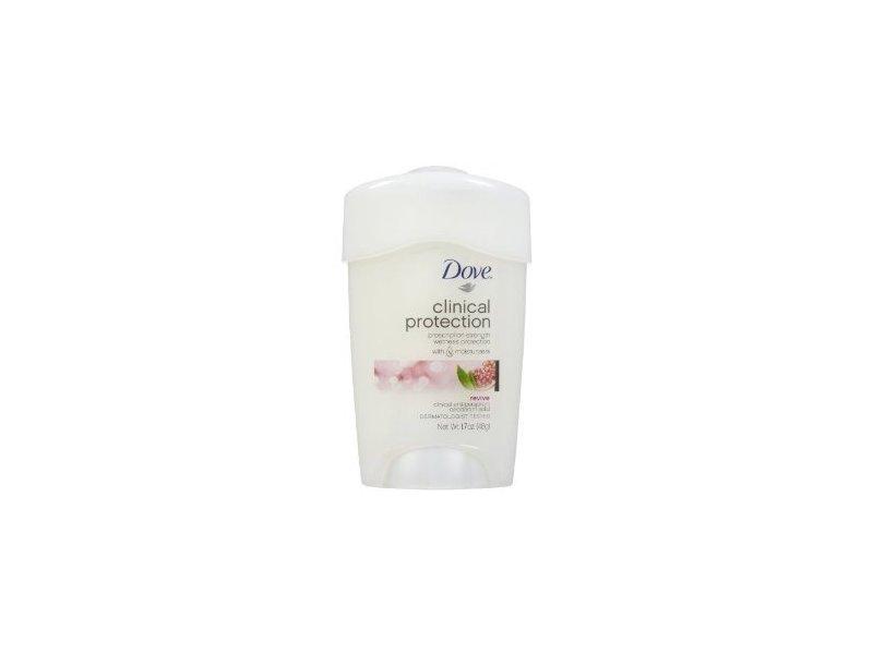 Dove Clinical Protection Antiperspirant & Deodorant Solid, Revive: Pomegranate & Lemon Verbena