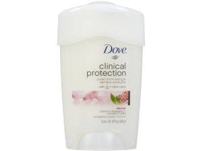 Dove Clinical Protection Antiperspirant & Deodorant Solid, Revive: Pomegranate & Lemon Verbena - Image 1