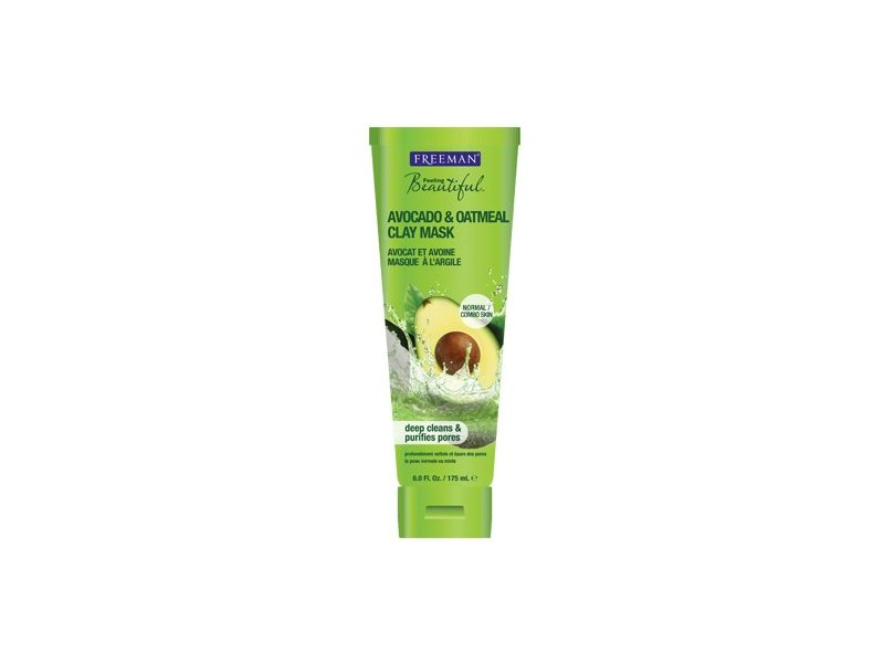 Freeman Feeling Beautiful Facial Masque, Purifying, 6 fl oz
