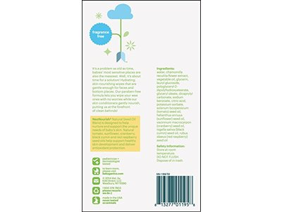 Babyganics Face, Hand & Baby Wipes, Fragrance Free, 400 Count - Image 3