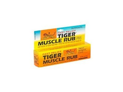 Tiger Balm Muscle Rub Pain Relief Cream (Pack of Two)