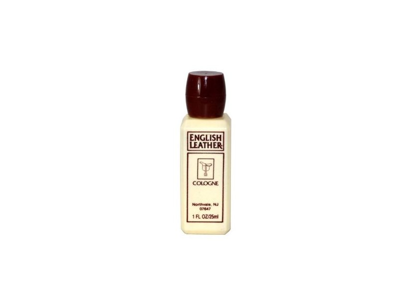 Dana English Leather Cologne for Men (Plastic Travel Size), 1 Ounce