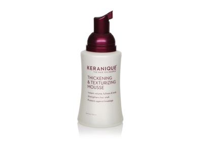 Keranique Thickening & Texturizing Mousse, 3.4 fl. oz. - Image 1