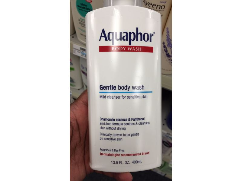 Aquaphor Body Wash- Gentle Body Wash