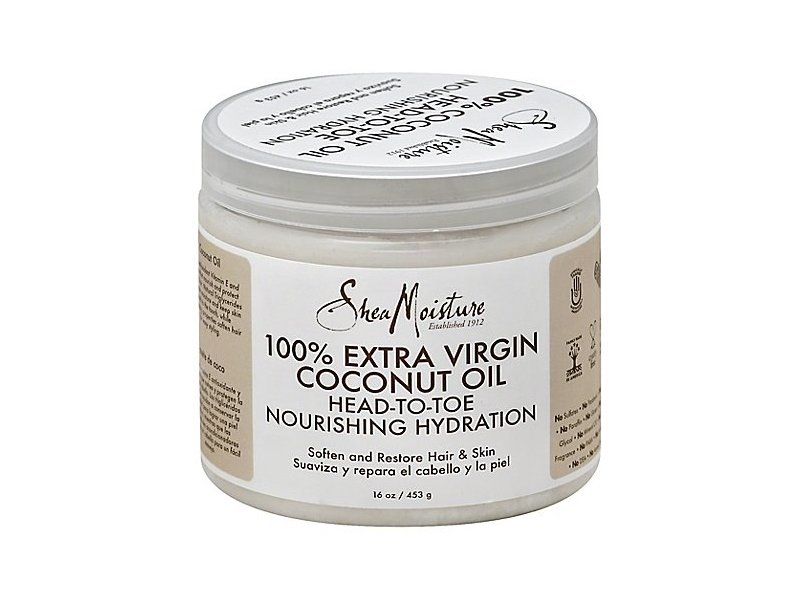 SheaMoisture 100% Extra Virgin Coconut Oil, 15 fl oz