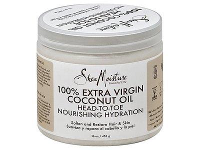 SheaMoisture 100% Extra Virgin Coconut Oil, 15 fl oz