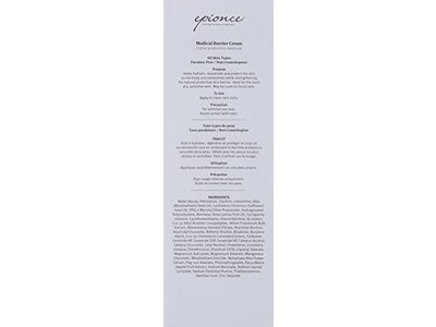 Epionce Medical Barrier Cream 8 Fluid Ounce Ingredients And Reviews