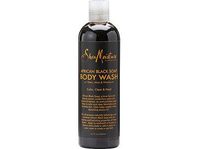 SheaMoisture African Black Soap Body Wash, 13.0 oz