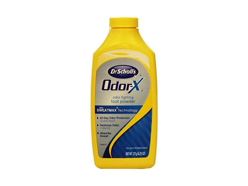 Dr. Scholl's Odor X All Day Deodorant Powder-6.25 oz.