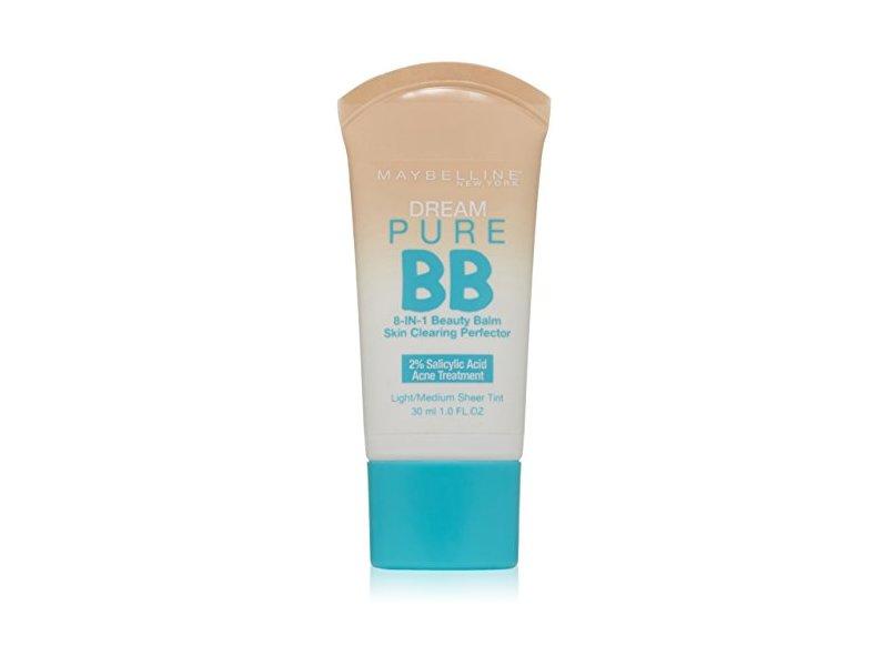 Maybelline New York Dream Pure BB Cream Skin Clearing Perfector, Light/Medium, 1 Fluid Ounce