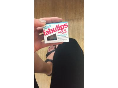 bliss Fabulips Sugar Lip Scrub, 0.5 oz. - Image 8