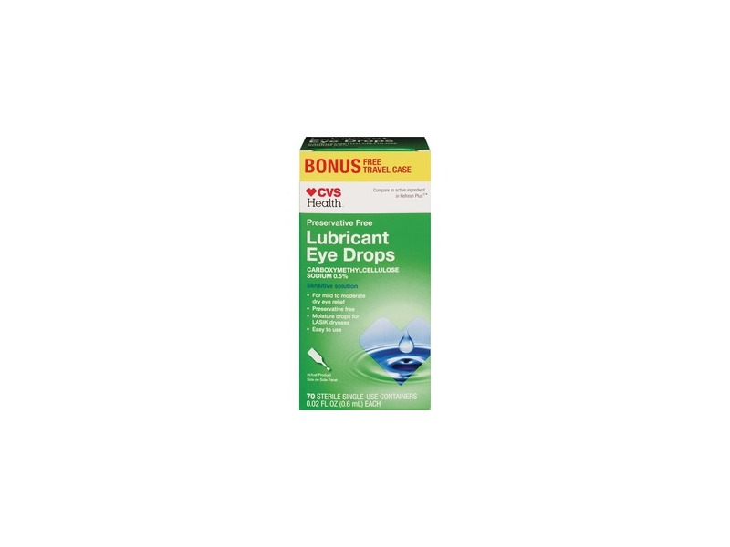 cvs lubricant eye drops  sensitive solution ingredients and reviews